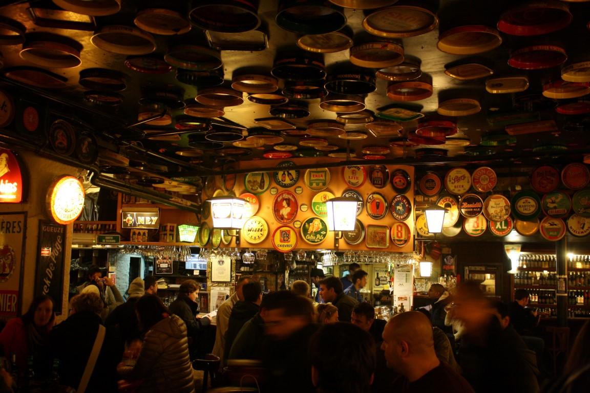 Delirium Cafe brüksel seyahat rehberi Brüksel Seyahat Rehberi brussel 04