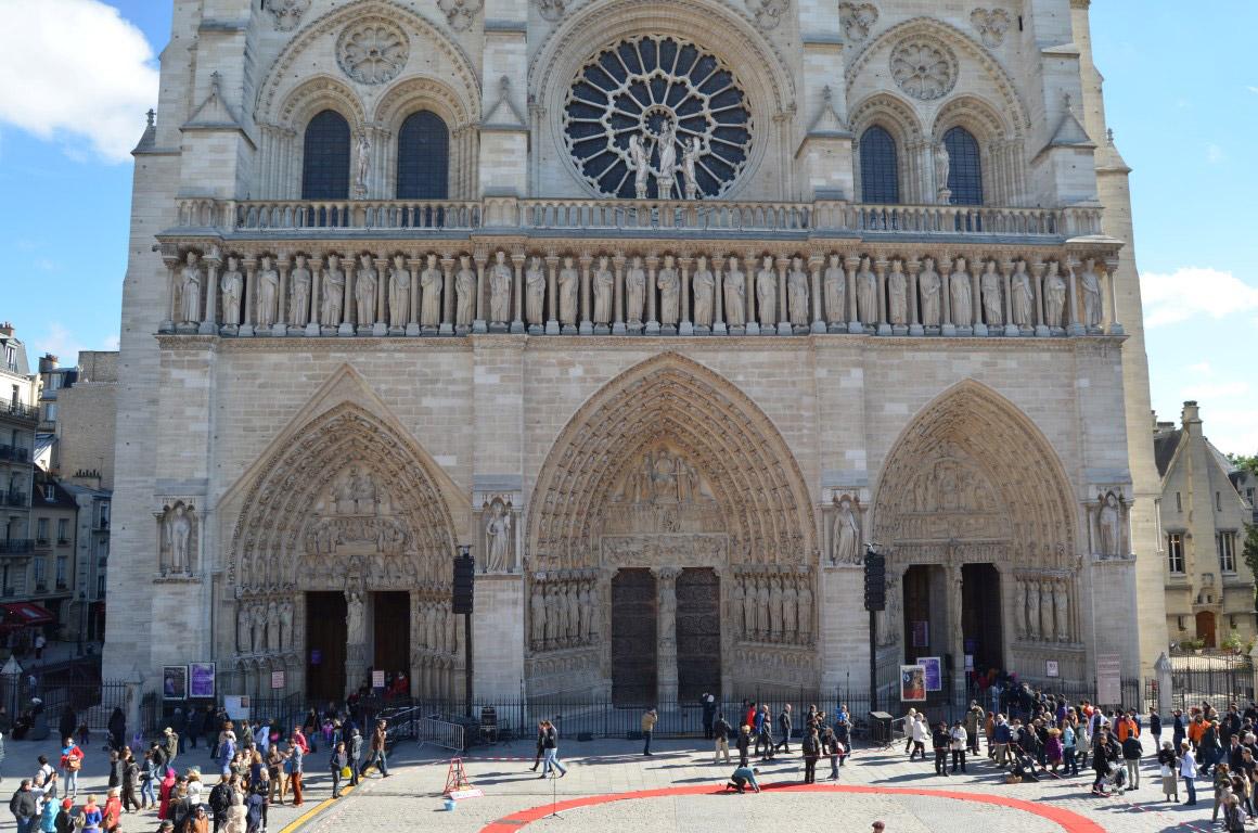 Notre Dame Katedrali - Cathédrale Notre Dame de Paris paris seyahat rehberi Paris Seyahat Rehberi paris 02