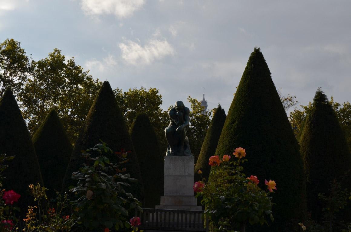 Düşünen Adam Heykeli paris seyahat rehberi Paris Seyahat Rehberi paris 04