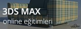 3ds Max Online Eğitimleri
