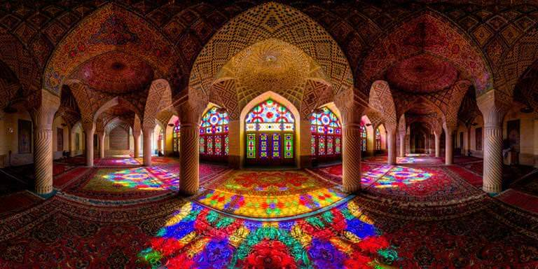 Dünyadaki En Renkli Cami Nasır El Mülk dünyadaki en renkli cami nasır el mülk Dünyadaki En Renkli Cami Nasır El Mülk nasr al mulk uzaktan