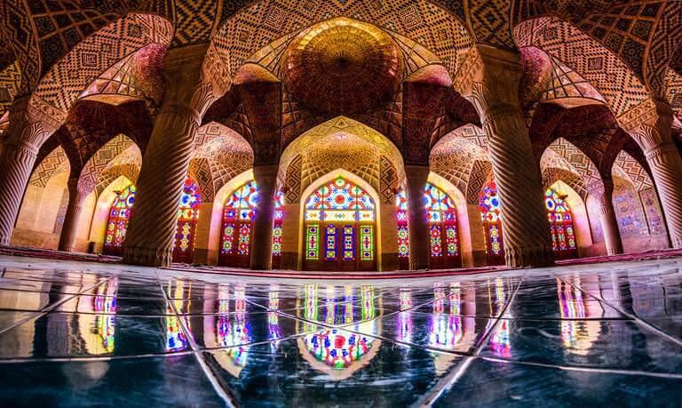 Dünyadaki En Renkli Cami Nasır El Mülk dünyadaki en renkli cami nasır el mülk Dünyadaki En Renkli Cami Nasır El Mülk nasr al mulk yer